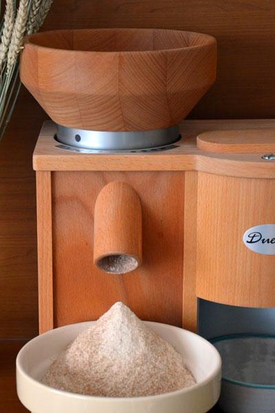 Molino de harina y copos Duett.